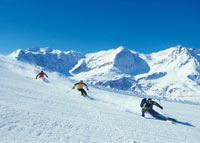 Skiing in Bad Gastein